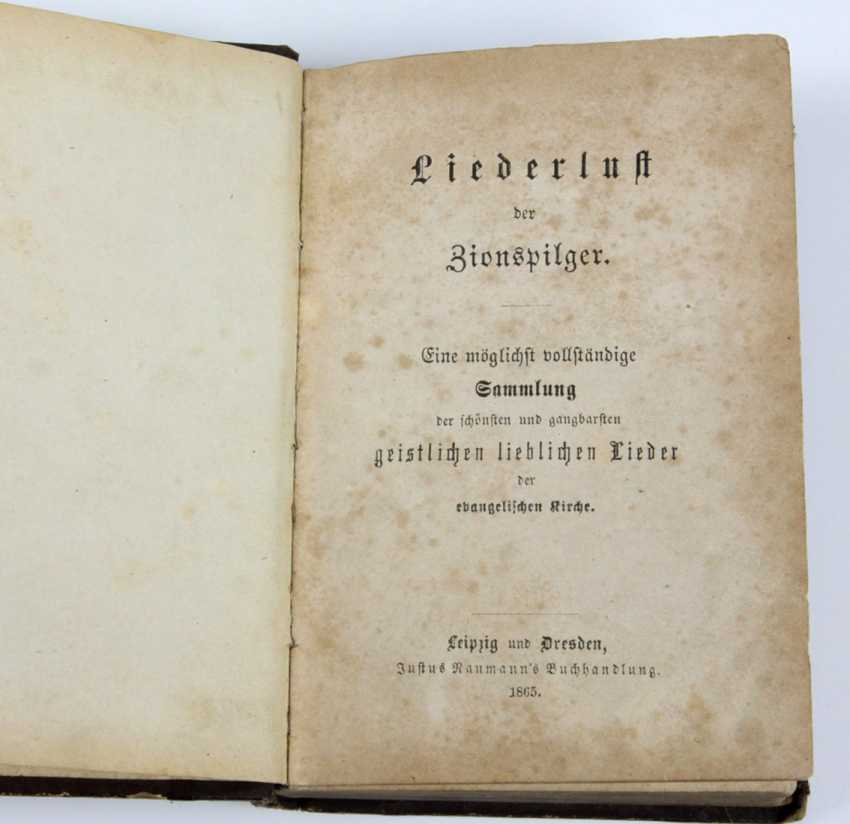 Song lust, of Zion's pilgrims from 1865 - photo 1