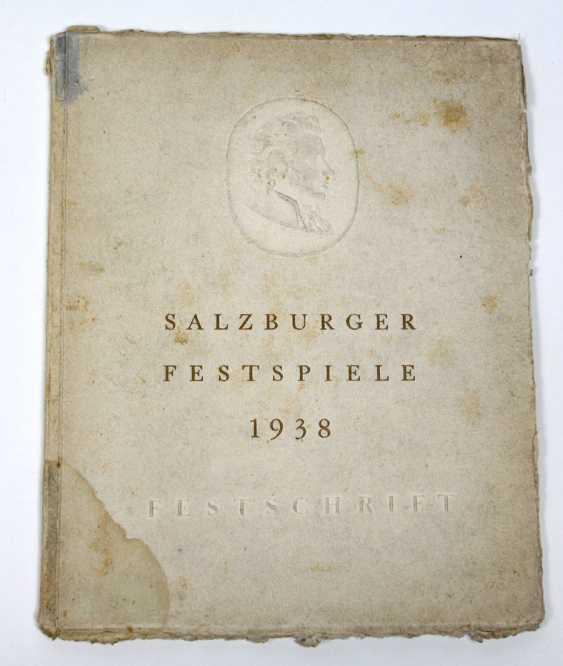 Salzburg Festival In 1938 - photo 1