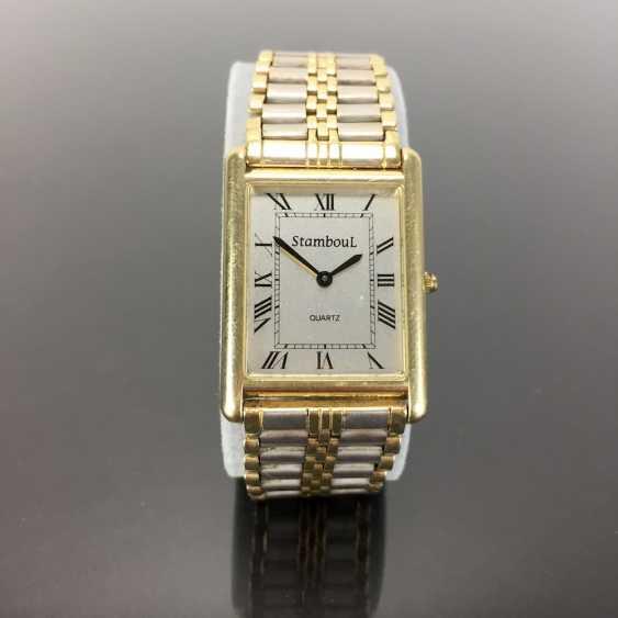 Heavy Mens Wrist Watch: Gold 585 / 14 K. - photo 1