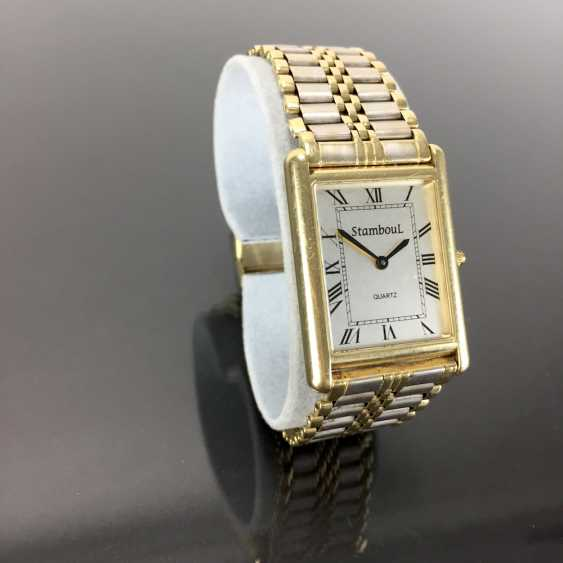 Heavy Mens Wrist Watch: Gold 585 / 14 K. - photo 2