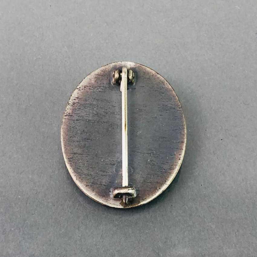 Deutsches Reich / Second world war badge Wounded, and in silver, in 1939, in a case. Klein & Quenzer, Idar Oberstein. - photo 4