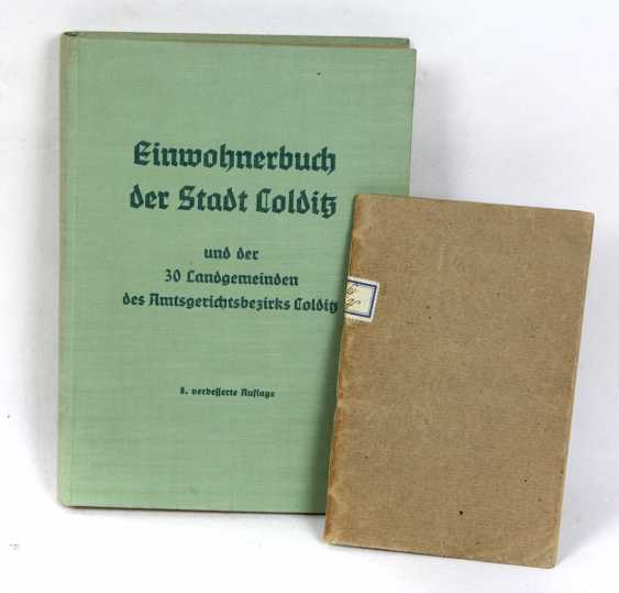 City register of the city of Colditz - photo 1