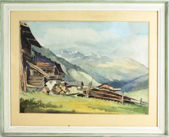 Alpine Landscape - Becker, Willy - photo 1
