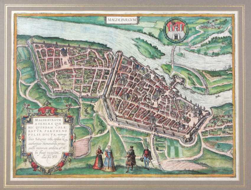 Copper Engraving Of Magdeburg - photo 1