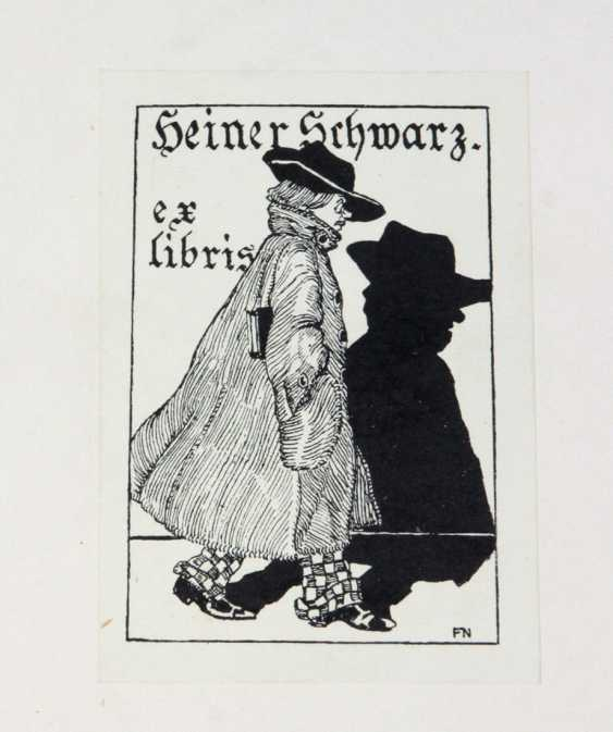 Small collection of 26 ex-libris - photo 1