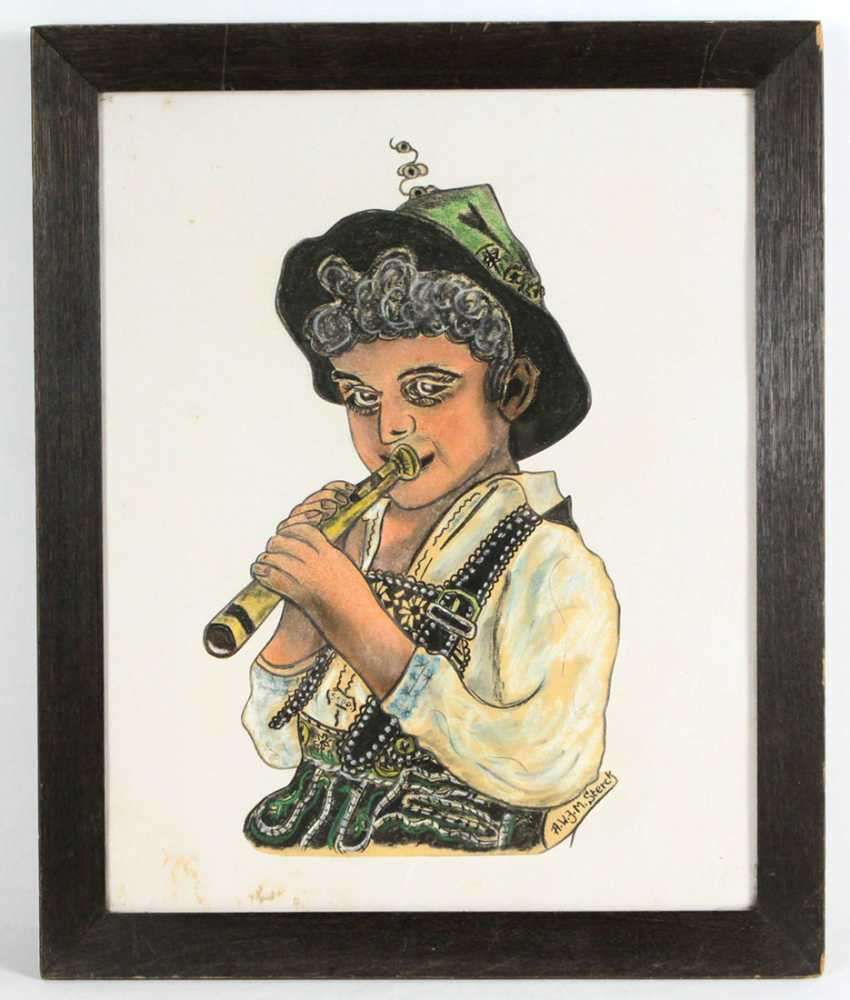 Sepp, the flute - player Sterck, A. W. J. M. - photo 1