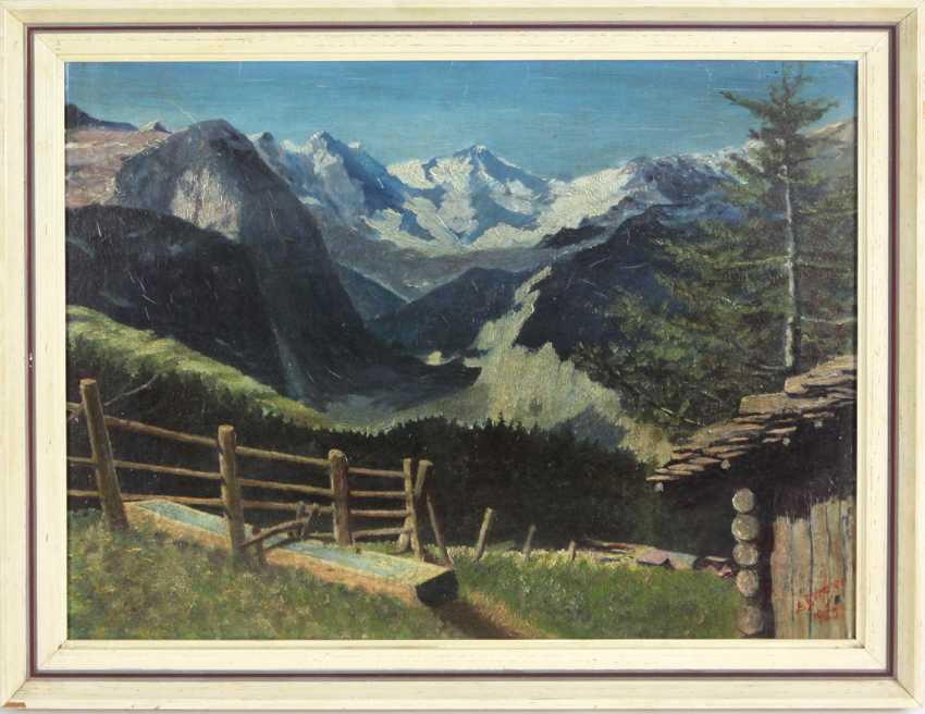 Panorama Of The Alps - Berger, Albert - photo 1