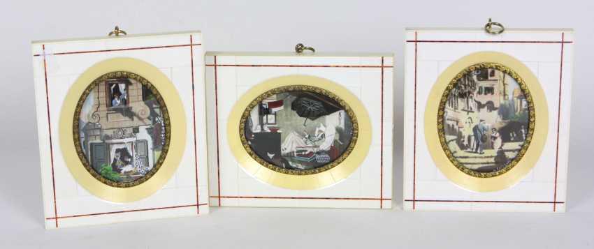 Miniature trilogy to Spitzweg - photo 1