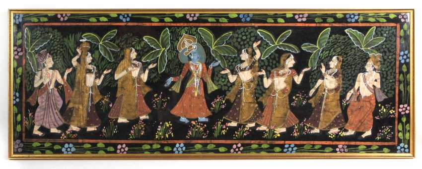 Indian Silk Painting - photo 1