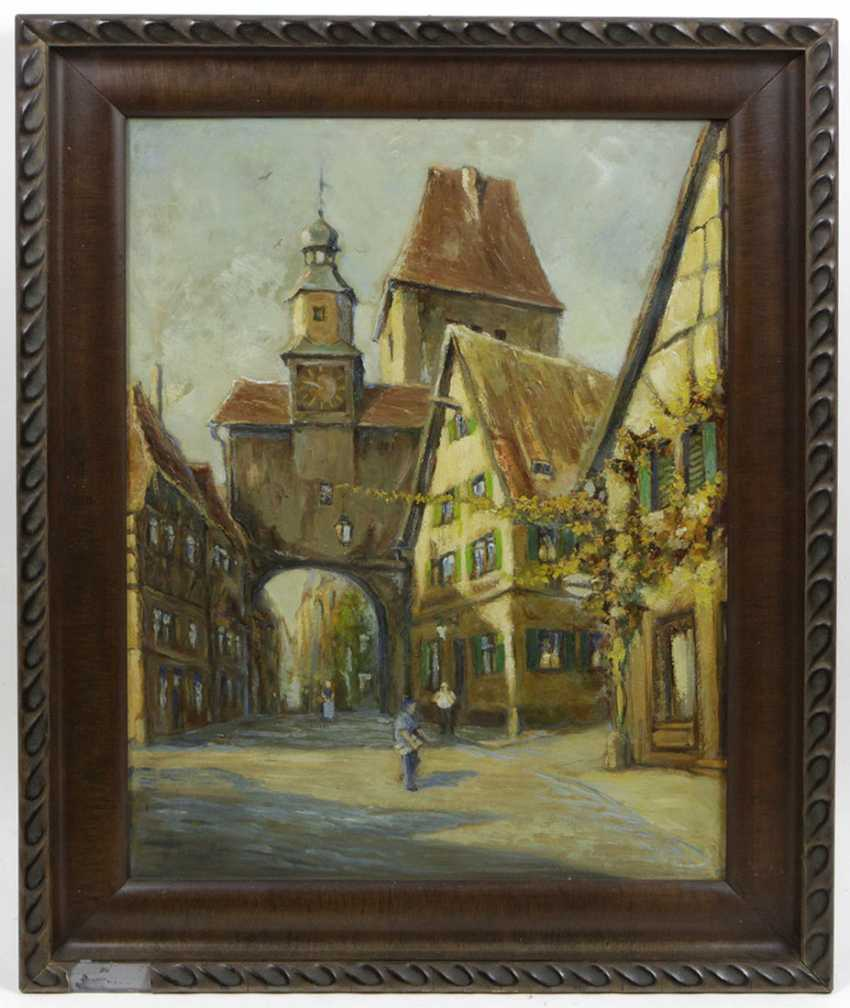 Rothenburg - signed - photo 1