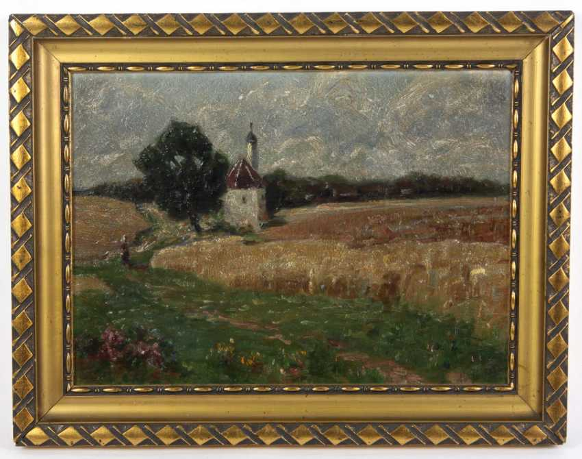 Late summer in the countryside - unknown artist - photo 1