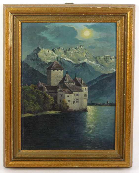 Castle in the moonlight - Hoffmann, K. - photo 1