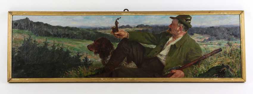 Hunters Resting - Schmidt, Felix 1902 - photo 1