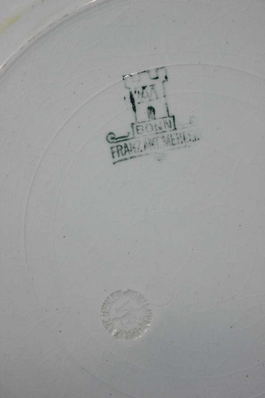 11 Poisson à partir de la Porcelaine et de la Faïencerie de Franz Anton Mots-Bonn - photo 2