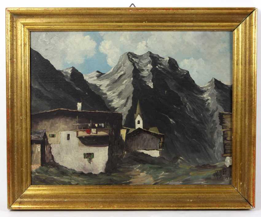 Mountain Landscape - Weber, F. 1948 - photo 1