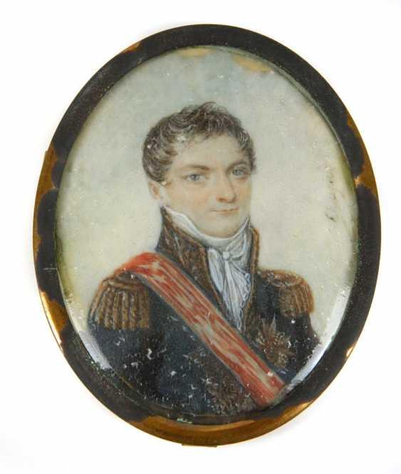 Portrait Miniature-19th Century. Century - photo 1