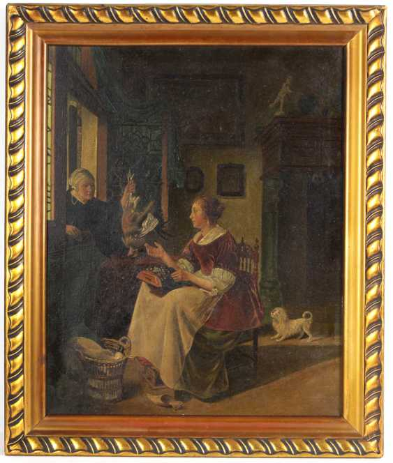 Biedermeier scene - unknown artist - photo 1