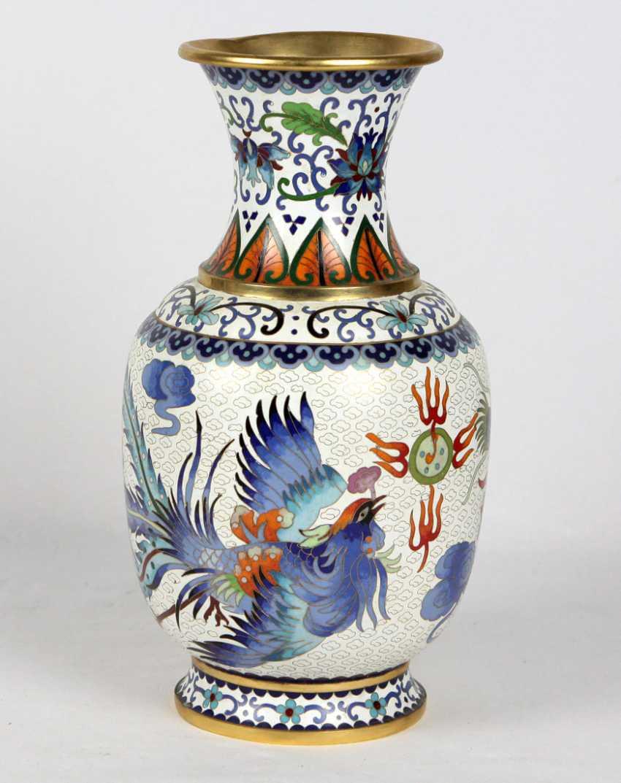 Cloisonne Vase - photo 1