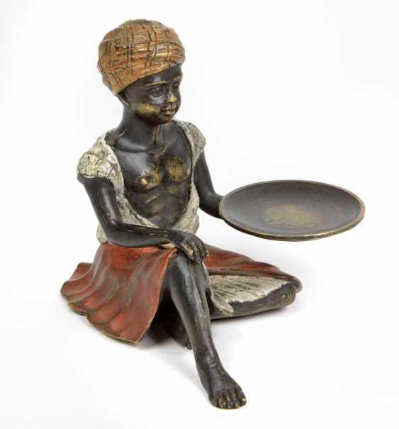 Bronze figure in Vienna, 1920s - photo 1
