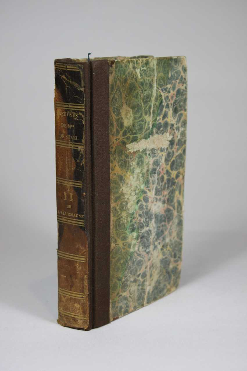 The Works Complete Of Mrs. The Baroness De Stael. Volume XI. Germany.- Volume II. Verlag: Treuttel and Würtz - photo 1