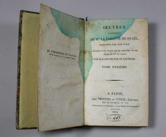 The Works Complete Of Mrs. The Baroness De Stael. Volume XI. Germany.- Volume II. Verlag: Treuttel and Würtz - photo 2
