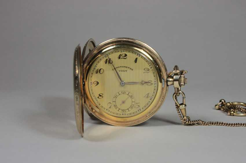 Pocket watch with chain - photo 1