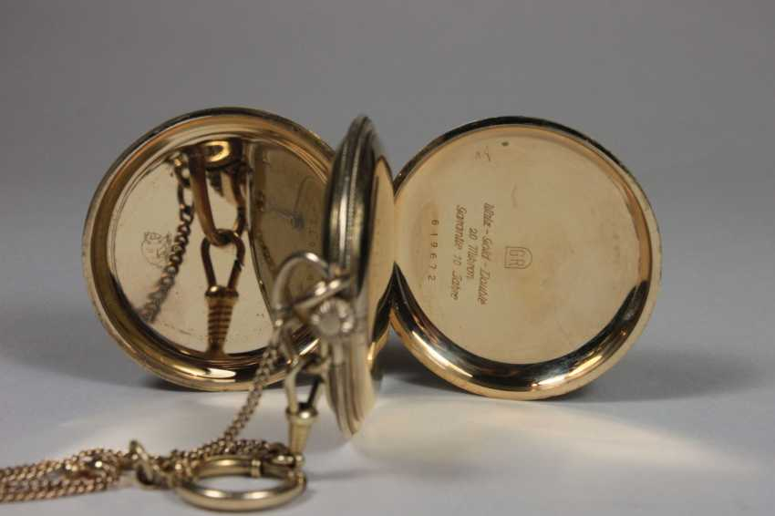 Pocket watch with chain - photo 2