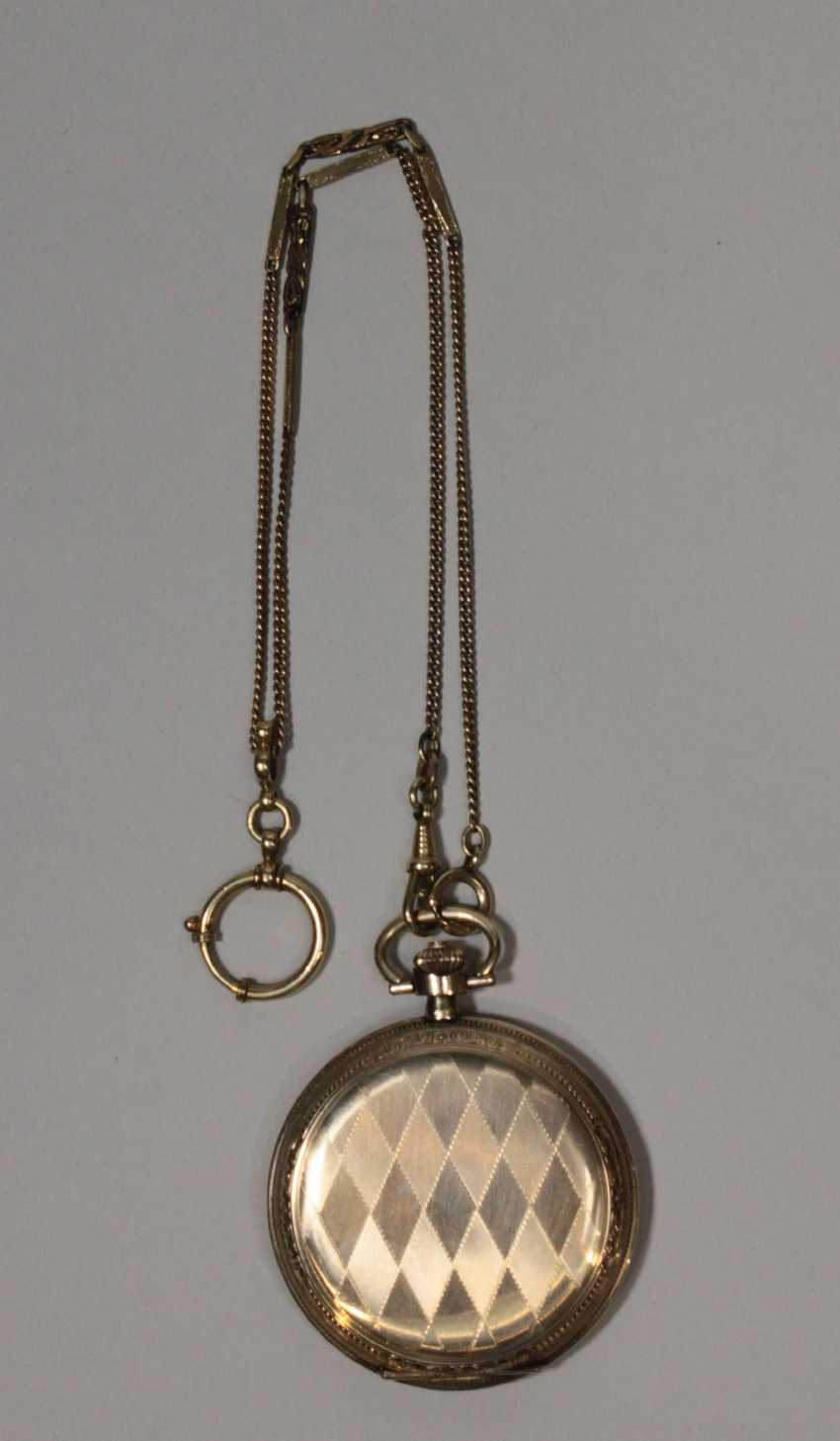 Pocket watch with chain - photo 3