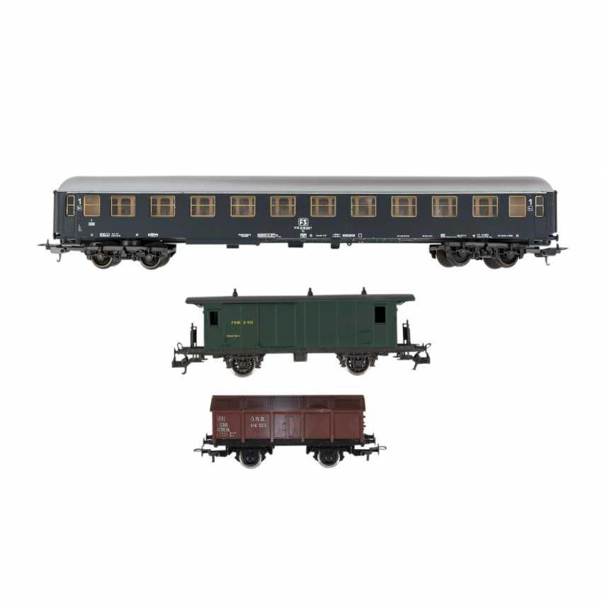 ROCO/ЛИМА/PIKO стопку бумаг, среди прочего электровоза, пассажирских и грузовых вагонов, колеи H 0, - фото 2