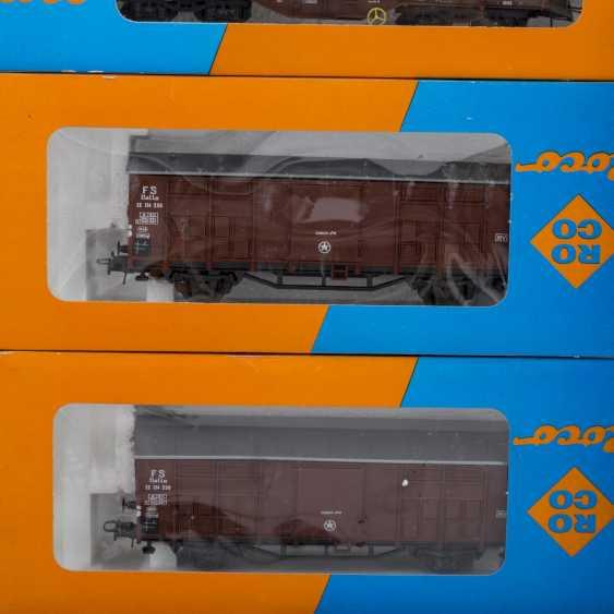 ROCO/ЛИМА/PIKO стопку бумаг, среди прочего электровоза, пассажирских и грузовых вагонов, колеи H 0, - фото 3