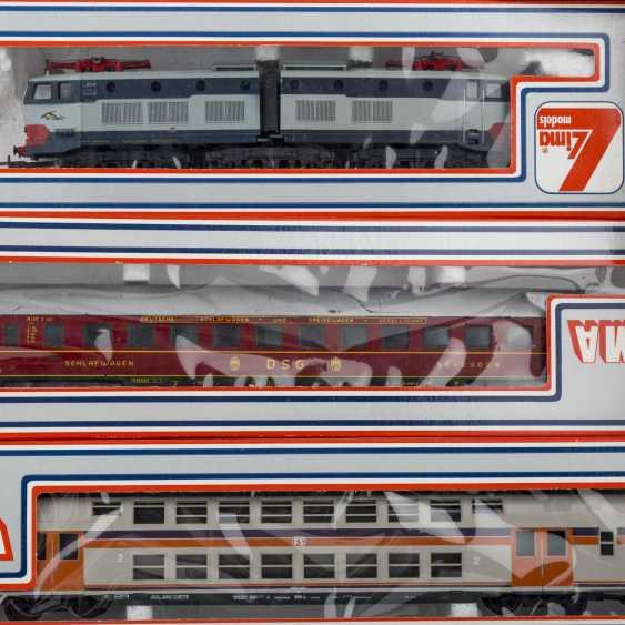 ROCO/ЛИМА/PIKO стопку бумаг, среди прочего электровоза, пассажирских и грузовых вагонов, колеи H 0, - фото 5