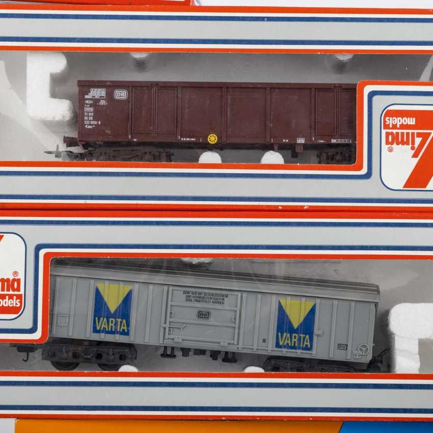 ROCO/ЛИМА/PIKO стопку бумаг, среди прочего электровоза, пассажирских и грузовых вагонов, колеи H 0, - фото 6