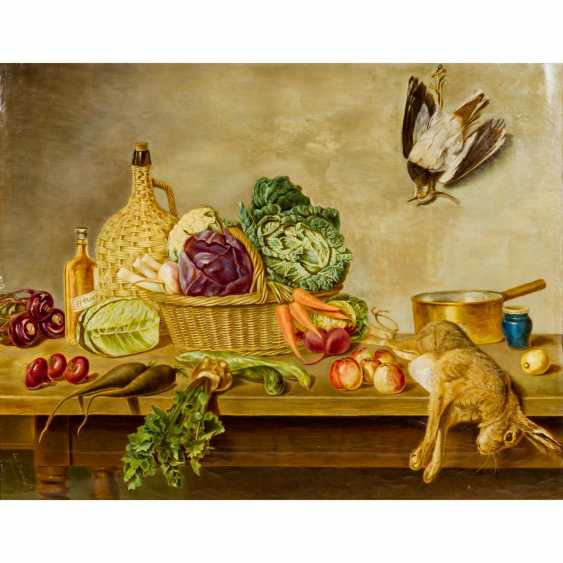 """KRUMBACH, CARL (South German painters 1. Half of the 20. Century), """"Hunting Still Life"""", - photo 1"""