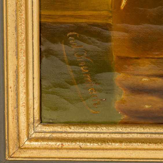 """KRUMBACH, CARL (South German painters 1. Half of the 20. Century), """"Hunting Still Life"""", - photo 2"""