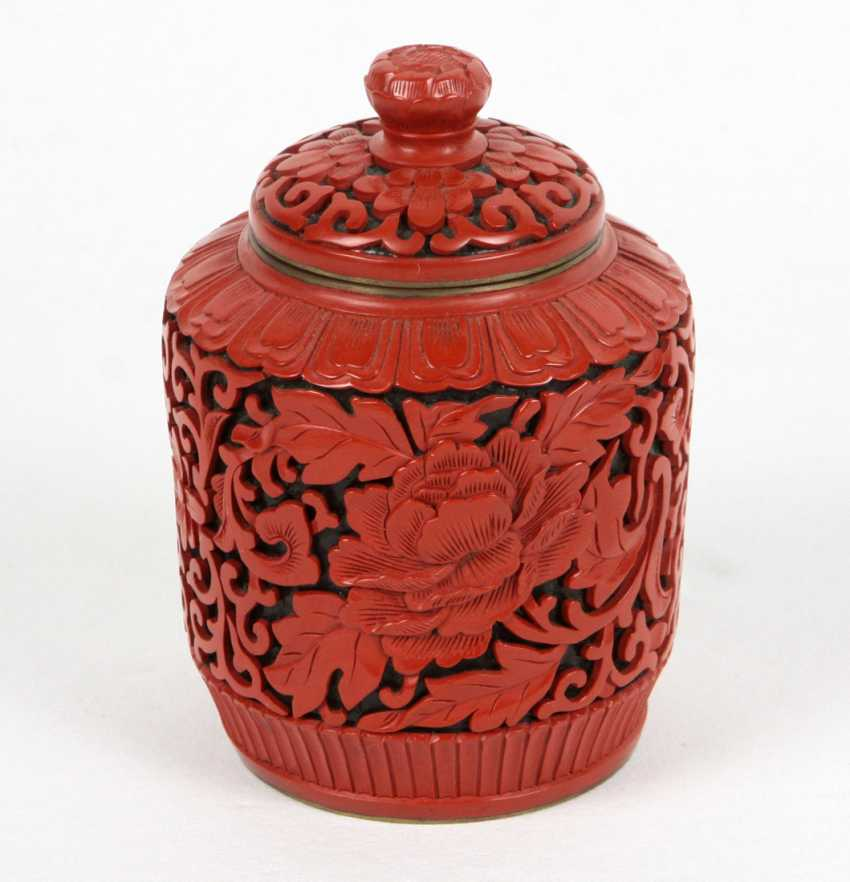 Lacquer Red With Lids - photo 1