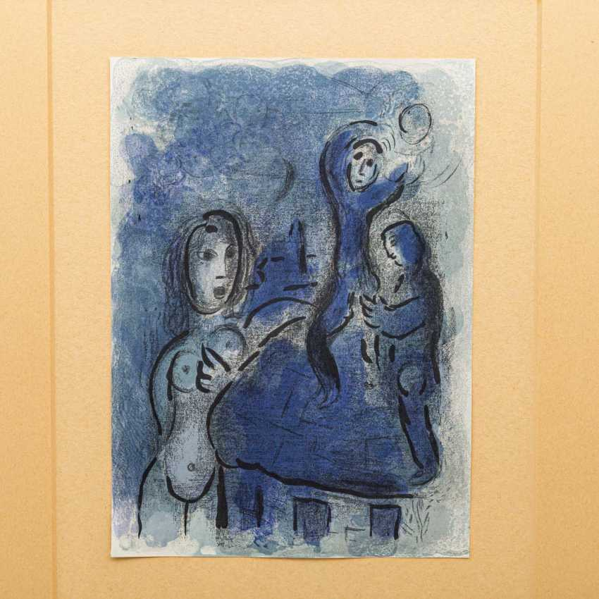 """CHAGALL, MARC (1887-1985), """"figurative composition with female Nude"""", - photo 1"""