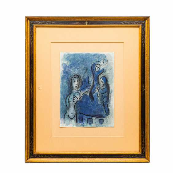 """CHAGALL, MARC (1887-1985), """"figurative composition with female Nude"""", - photo 2"""