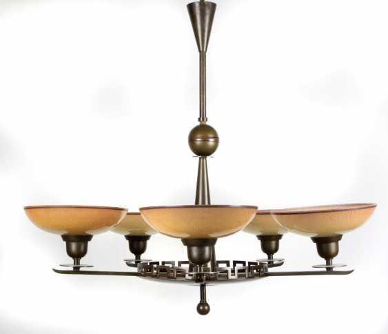 Art Deco ceiling lamp 1930s - photo 1