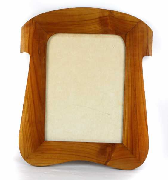 Art Nouveau cherry wood frame circa 1910 - photo 1