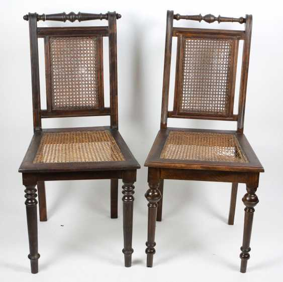 2 historicism chairs 1880 - photo 1