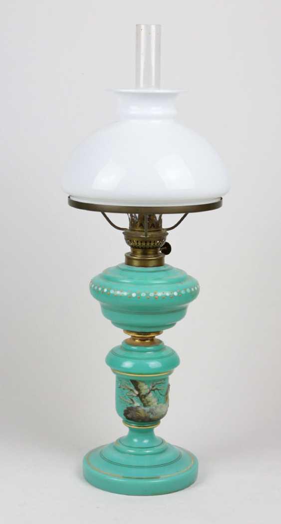 Керосиновая лампа около 1880 - фото 1