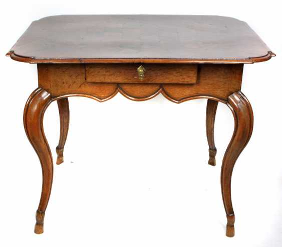 Table with marquetry 19th century. Century - photo 1