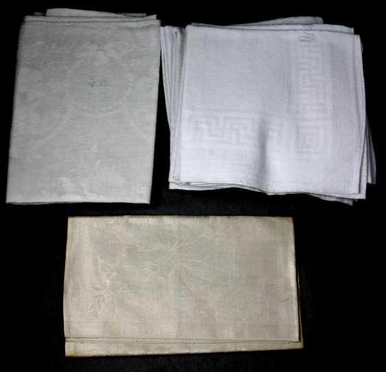 Items linen towels around 1920/30 - photo 1