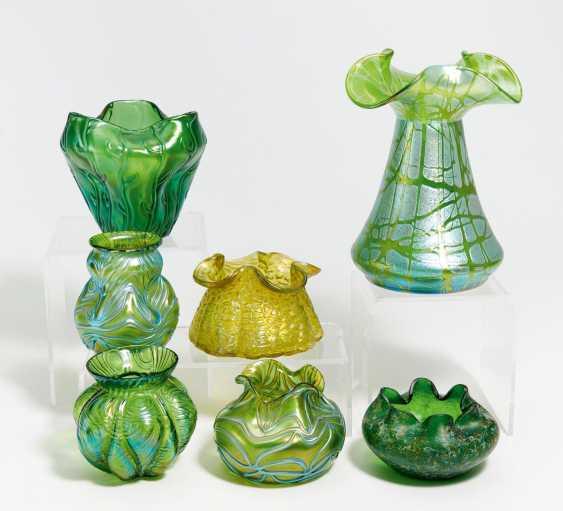 7 small vases - photo 1