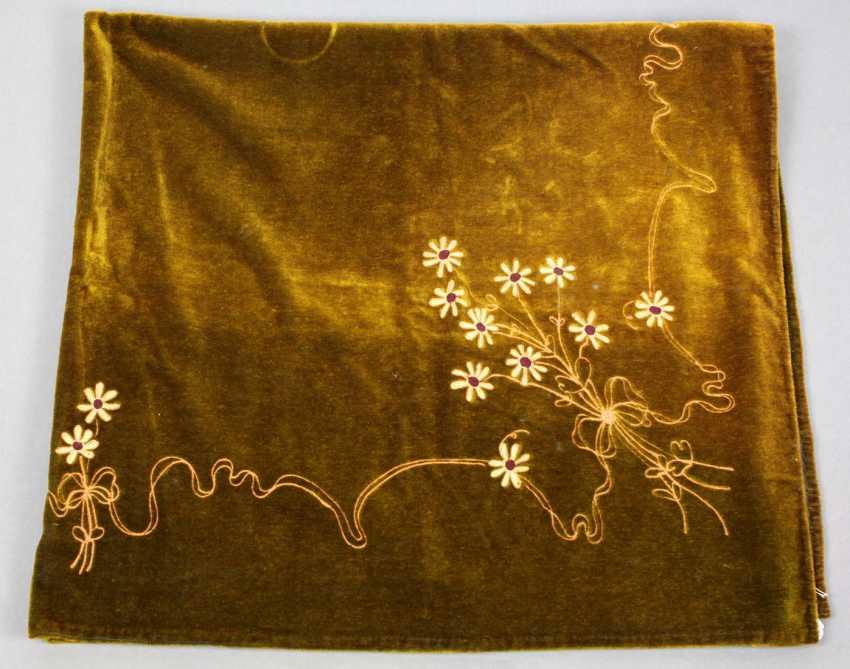 Art Nouveau style table cloth 1910 - photo 1
