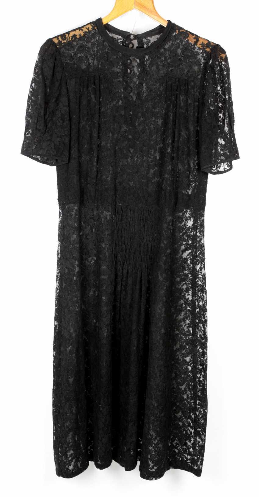 black lace dress 1920 - photo 1