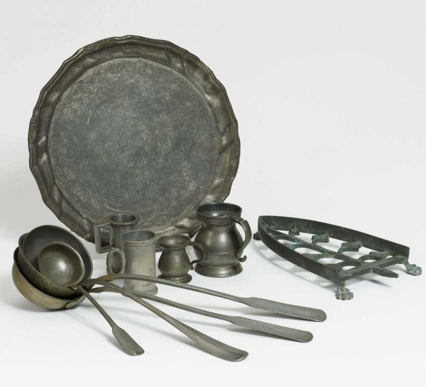 Collection tray, 4 ladles, 4 small cups - photo 1