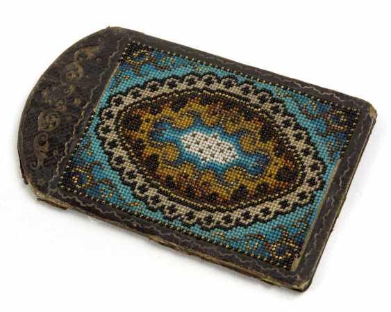 Beaded embroidery around 1840 - photo 1