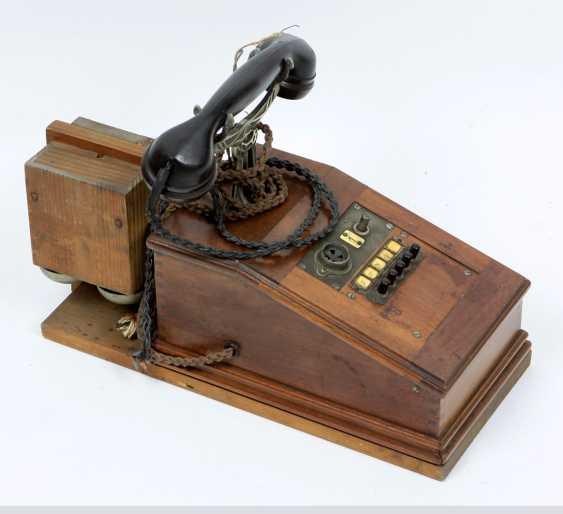 Walnut telephone around 1910 - photo 1