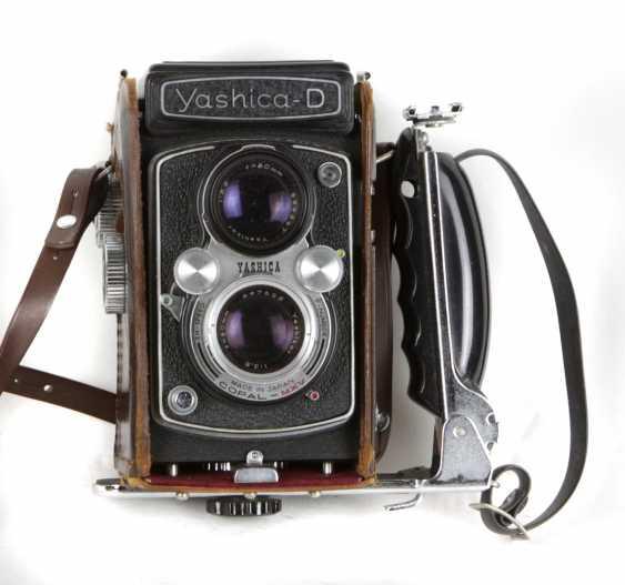 SLR Camera Yashica-D - photo 1